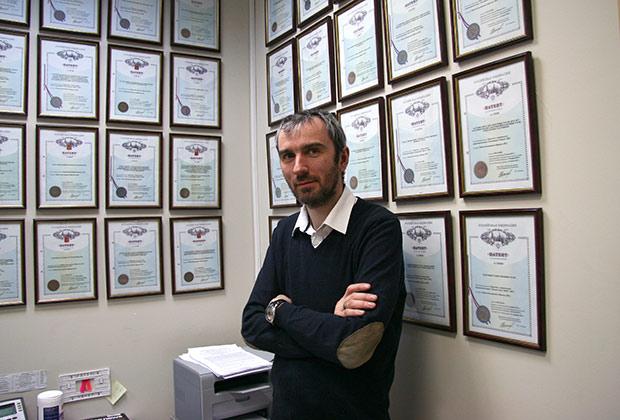 Константин Чайкин и его патентные дипломы