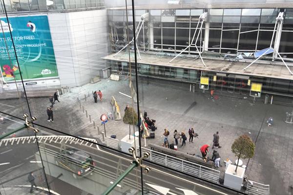 В метро и аэропорту столицы Европы произошли взрывы: Преступность: Мир:  #Мир #Новости