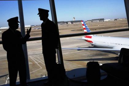 American Airlines отменила рейс из-за нетрезвого пилота #Мировые #Новости