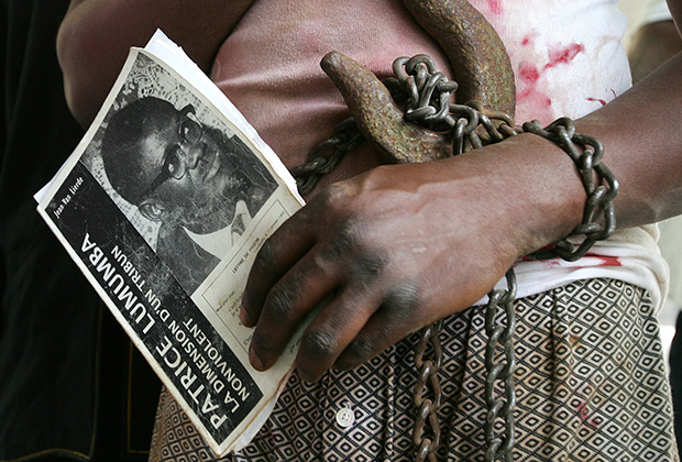 Lumumba, the premier, murdered in katanga