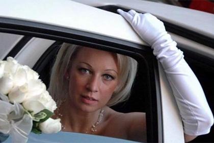 0d248b5b4df Фото Марии Захаровой в свадебном платье набрало 15 тысяч лайков