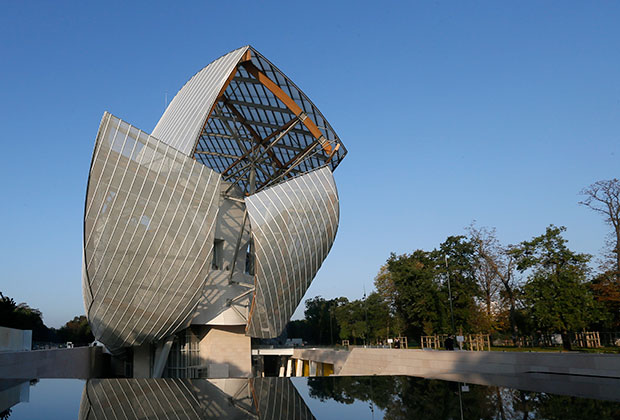 Музей Louis Vuitton Foundation в Париже