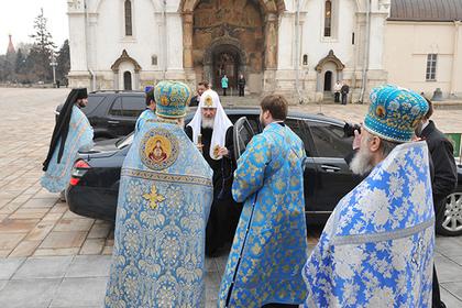 патриарх кирилл призвал священников отказаться дорогих машин