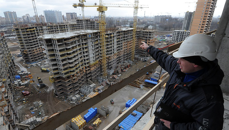 Завосемь месяцев в РФ ввели 23,2 млн «квадратов» индустриального жилья