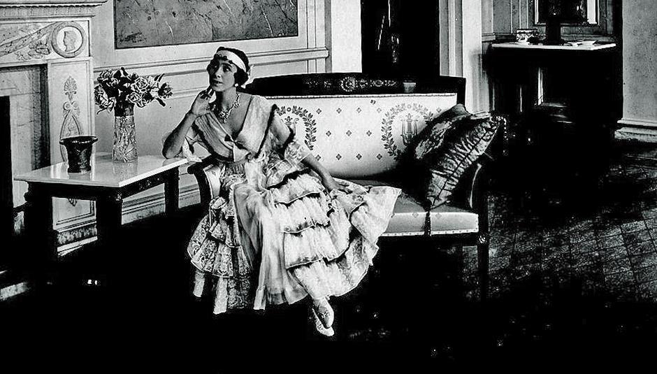Матильда Кшесинская в собственном особняке