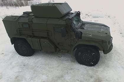 Минобороны показало новый бронеавтомобиль для ВДВ