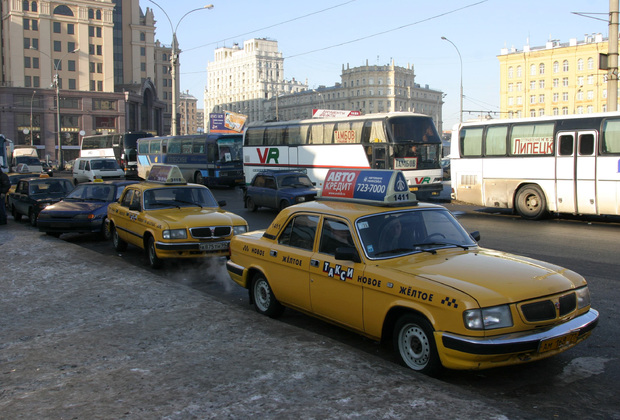 Район Павелецкого вокзала в Москве, 2005 год
