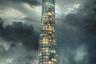 Второе место отдали совместному проекту Алекса Салливан-Брауна и Синдры Джонсен из Новой Зеландии. Вдохновившись постапокалиптической эстетикой, они создали здание, которое члены жюри назвали «вертикальным Ноевым ковчегом».