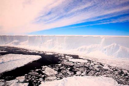 Под ледником нашли затерянный мир