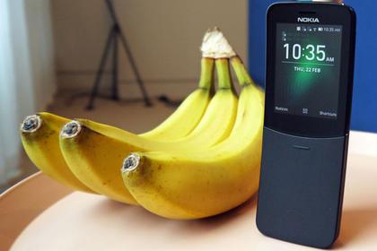 Nokia перевыпустила культовый «телефон-банан»8110