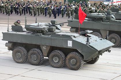Названо главное преимущество российского колесного танка