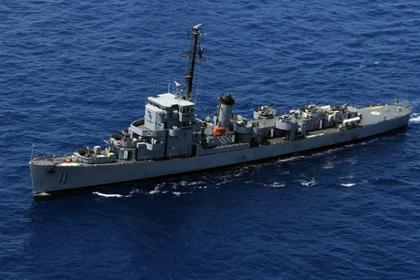 списан потопивший гитлеровскую подлодку американский корабль