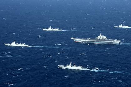 Огромный флот Китая родом из СССР поразил США