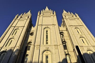 Церковь мормонов в Солт-Лейк-Сити, США