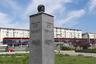 Памятник Гагарину в Белграде установили 8 апреля 2018 года, и буквально за несколько дней монумент успел собрать множество язвительных отзывов в соцсетях. <br><br> «Вижу, что послужило источником вдохновения для памятника Юрию Гагарину. Они скопировали средневековое устройство для пыток, железную деву», — написал, в частности, один из пользователей. «Насколько нужно быть ненормальным, чтобы спроектировать постамент в десять раз больше, чем крошечная голова», — вторит ему другой. <br><br> Причиной насмешек стали пропорции памятника: очень маленький бюст космонавта установлен на высоком массивном постаменте. С земли можно увидеть только небольшую часть головы первого космонавта.