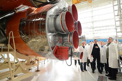 Россия признала отставание от США в ракетных двигателях