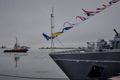россии спустят воду противоминный корабль нового поколения