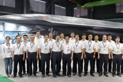 Китайский сверхзвуковой маневренный «Темный меч» шокировал США