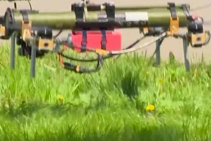 белоруссия показала дрон гранатометом