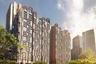 Проект Marina One тоже эко-ориентирован. Он создавался в рамках концепции превращения Сингапура в «город-сад», и внутреннее пространство комплекса как раз представляет собой трехмерный — с участием самих башен — сад тропической флоры.