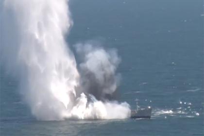 Турецкая подлодка потопила танкер в Черном море