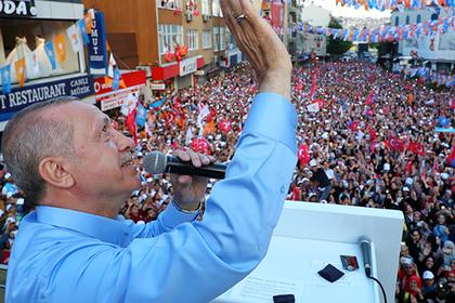 Эрдоган усилил свою власть в Турции