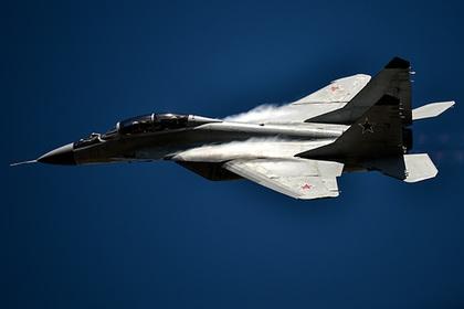 МиГ-29 разбился в Польше