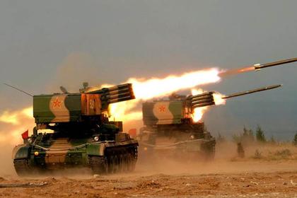 Китай показал стреляющий танковый «Град»
