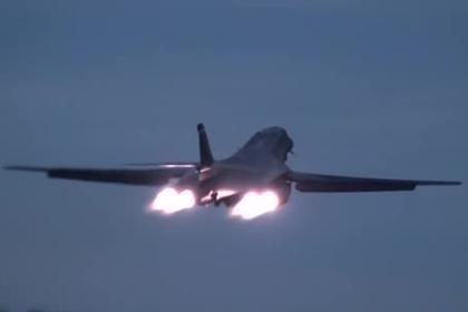 Форсаж и спираль бомбардировщика B-1B Lancer попали на видео