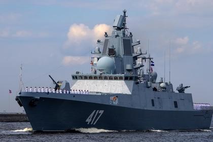 Российский флот обзавелся новейшим фрегатом