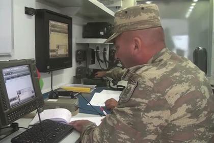 Учения азербайджанской артиллерии показали на видео
