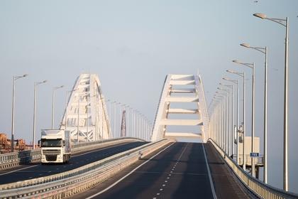 Поставщиков щебня для Крымского моста нашли на Украине