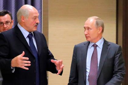 Лукашенко выпросил у Путина денег
