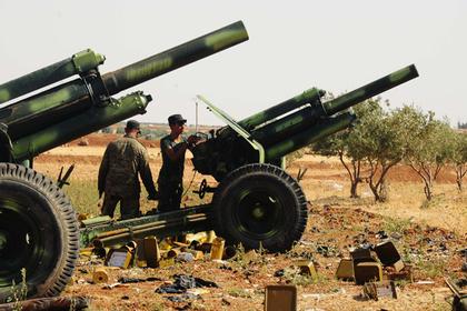 Идлиб очистили от тяжелой военной техники