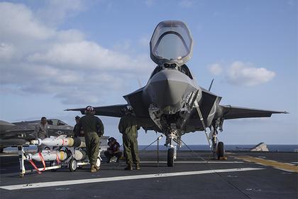 F-35B впервые запустил ракету HIMARS