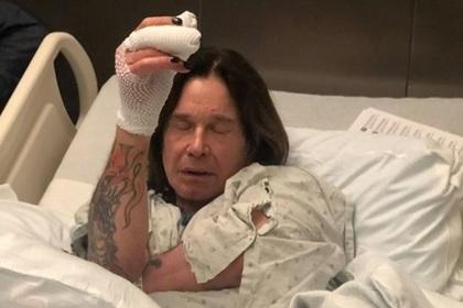 Оззи Осборн подхватил две инфекции и попал в больницу