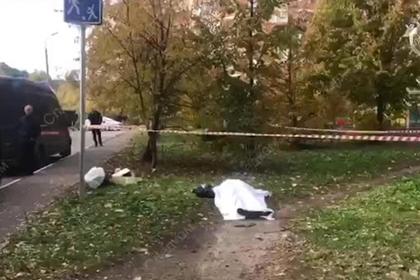 Появилось видео с места убийства следователя по особо важным делам
