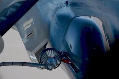 Дозаправку двух F-35В над Афганистаном показали в деталях