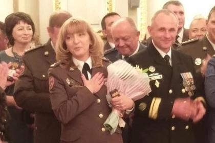 Порошенко впервые присвоил звание генерала женщине