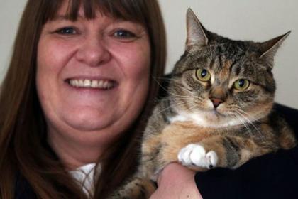 Кошка спасла хозяйку от рака груди