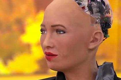 Обещавший уничтожить человечество робот позволил украинскому журналисту поцелуй