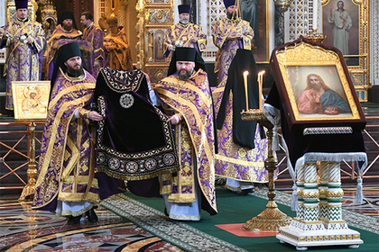 Кремль высказался о разрыве отношений между РПЦ и Константинополем