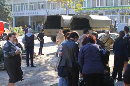 В Керчь отправили армию