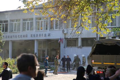 Взрывы в Керчи передумали считать терактом