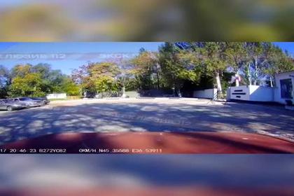 Взрыв в Керчи попал на видео