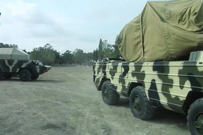 Боевые стрельбы азербайджанской армии показали на видео
