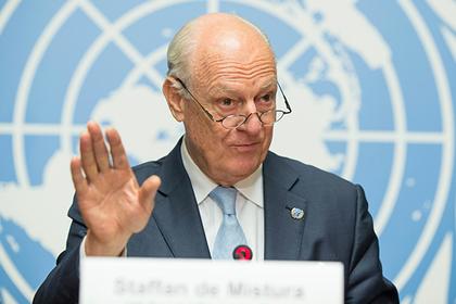 Спецпредставитель ООН по Сирии уйдет в отставку