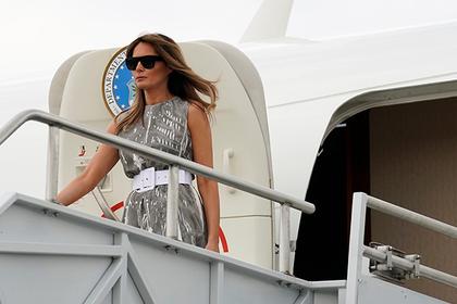 Самолет жены Трампа задымился