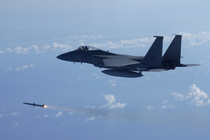 Американские F-15C и F-15D разгромили украинские Су-27 и МиГ-29
