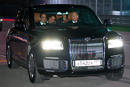 Президент Египта оценил «Кортеж» Путина